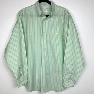 Brooks Brothers 346 striped 100% Supima Cotton